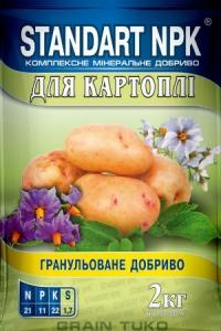 Стандарт NPK для картофеля