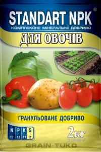 Стандарт NPK для овощей