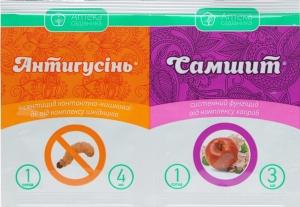 Инсектицид Антигусень + Самшит