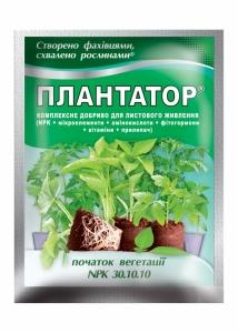 Удобрение Плантатор 30.10.10. Начало вегетации.